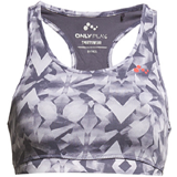 Only Play Printed Training Top Rp1 Crown Blue